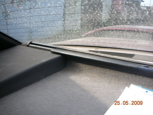 как крепится шторка заднего стекла опель омега