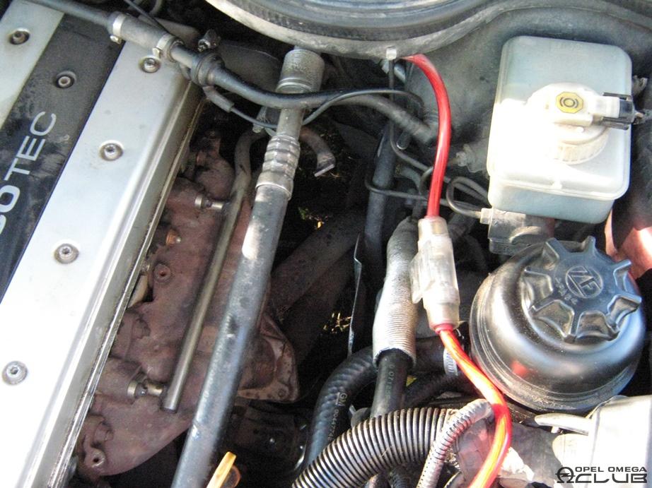 опель омега б х25хе поменять подушку двигателя