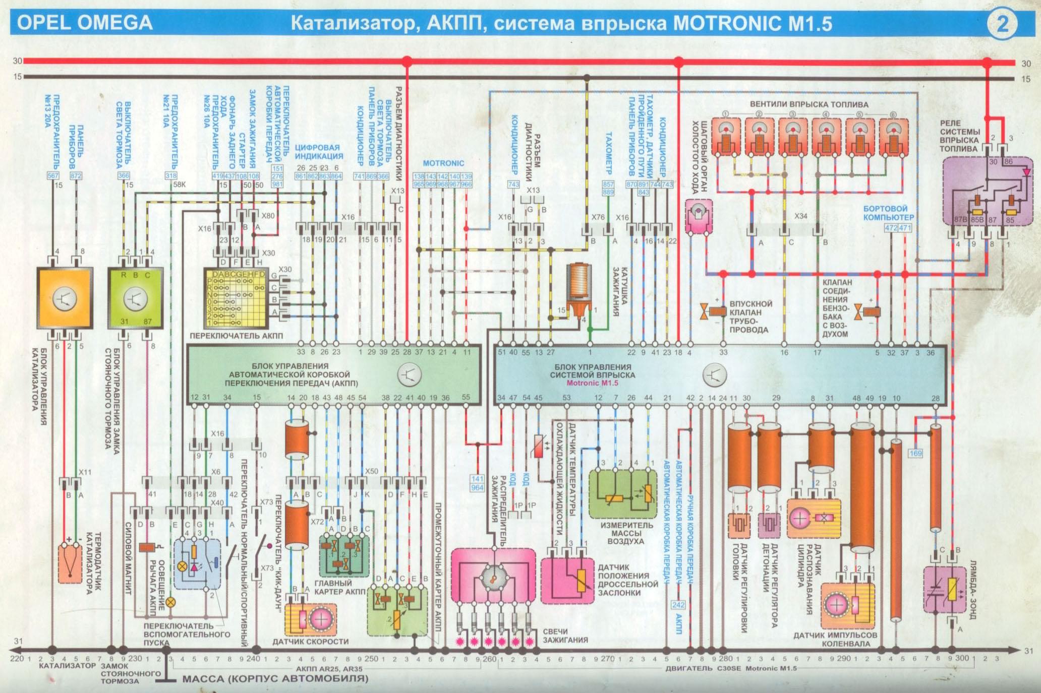 Схема доски ламината