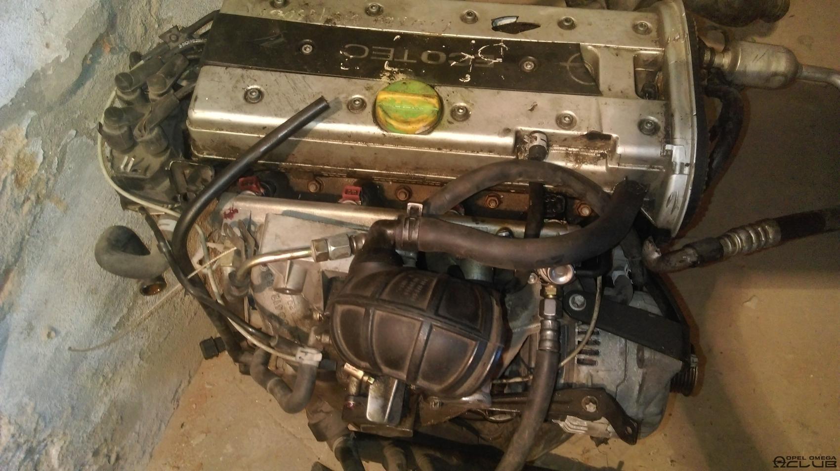 двигатель дымит опель омега б 2.0 16v