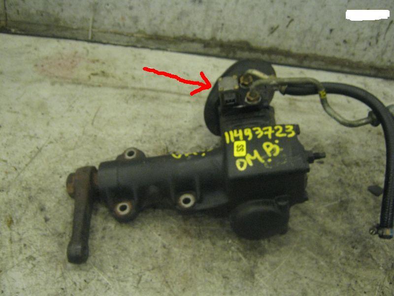 рулевой редуктор на опель омега