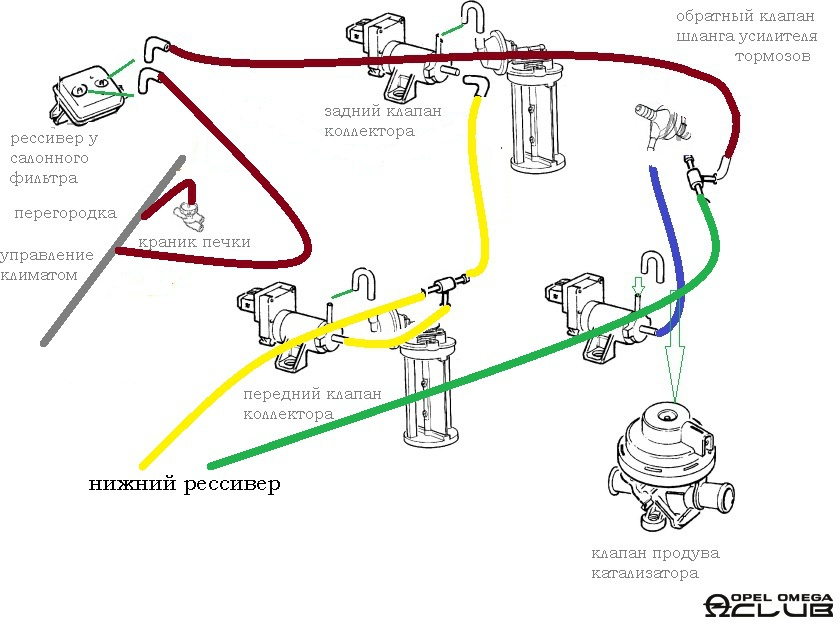 Схема печки опель омега фото 901