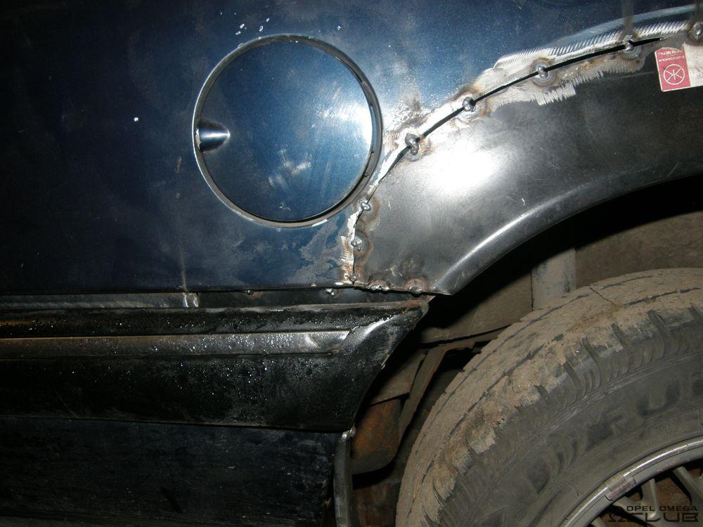 опель омега а арки колес от сенатора